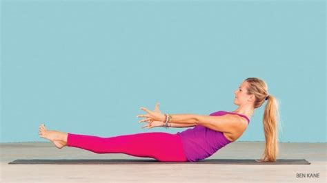 Boat Pose Core Exercise by Core Workout To Strengthen The Link Between Upper And