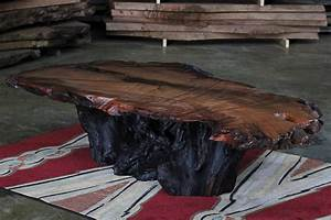 natural wood coffee tables rustic coffee table wood slab With natural cut wood coffee table