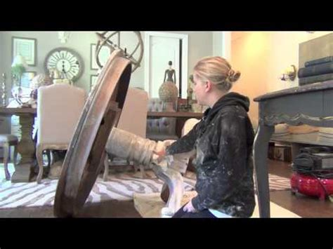annie sloan chalk paint tutorial  weathered wood