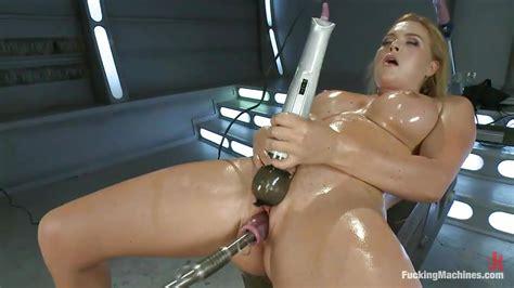 krissy lynn in smoking hot blonde milf with oiled body pleasuring herself hd from kink