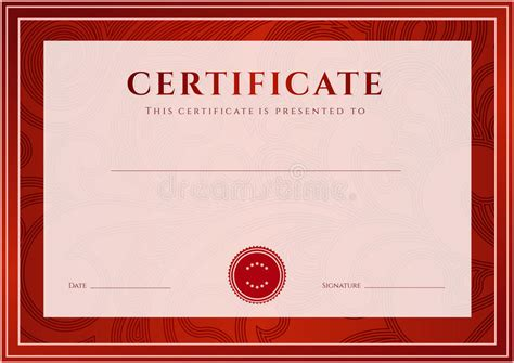 Certificate Of Authenticity Photography Template