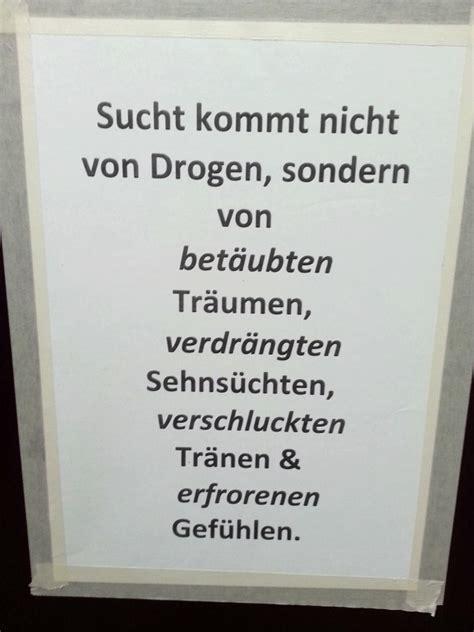 drogen machen  gar nicht suechtig notes  berlin
