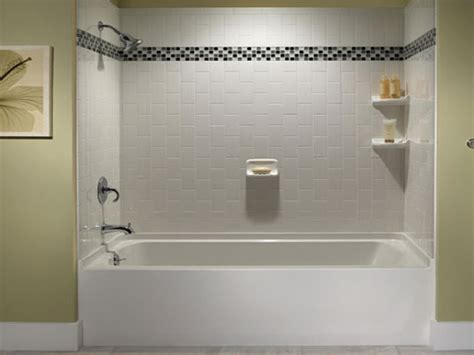 Decorating Ideas Tub Surround by Decorative Bathroom Tile Tile Bathtub Surround Ideas