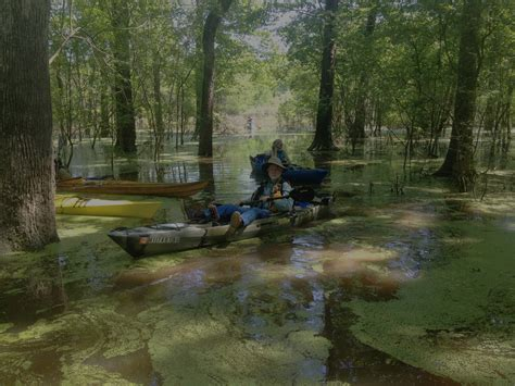 Paddling Panther Swamp   Barrack Farms