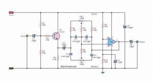 Simple Bass Treble Tone Control Circuit Diagram