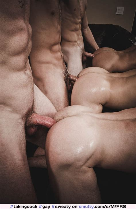 Gay Sweaty Hunks Group Orgy Sixcocks Ass Muscle