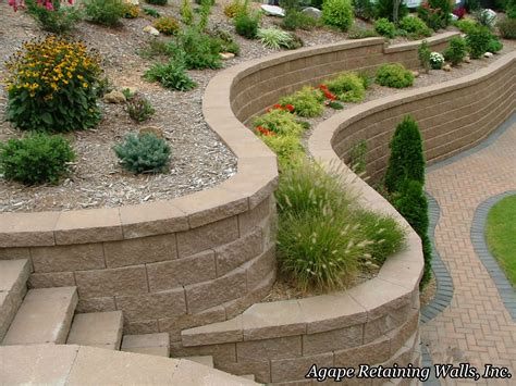 landscaping walls outdoors pathways walls pavers bricks hardscapes on pinterest retaining walls raised