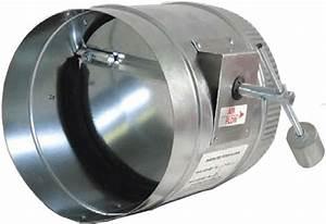4095  Round Barometric Pressure Relief Damper