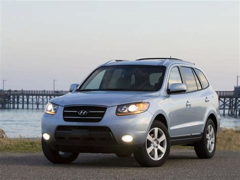 Hyundai Santa Fe Engine Size by 2008 Hyundai Santa Fe Suv Specifications Pictures Prices