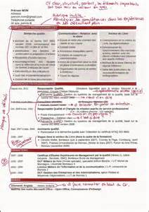 modele cv responsable qualite document