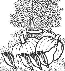 printable thanksgiving coloring pages  kids coolbkids