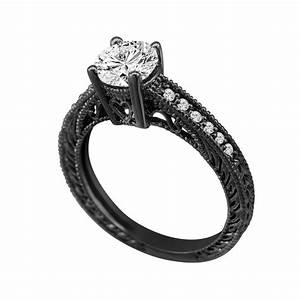29 creative black women wedding rings navokalcom With black womens wedding ring