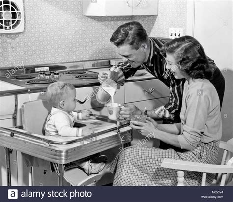 Women And Children 1950s Stock Photos Women And Children