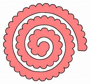 Paper this and that two rolled flower svg files for Rolled paper roses template