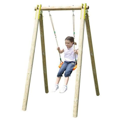 si鑒e balancoire balançoire bois trigano natura 1 90 m 1 enfant trigano store