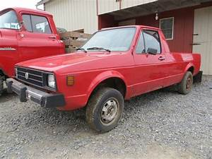 Truck For Sale  Vw Rabbit Truck For Sale