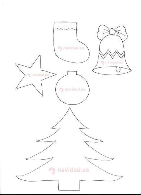 plantilla motivos navide 241 os para manualidades navidad