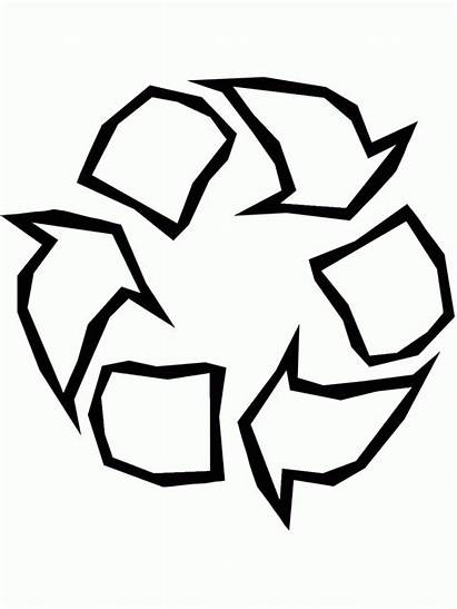 Recycle Symbol Printable Coloring Earth Pages Superman