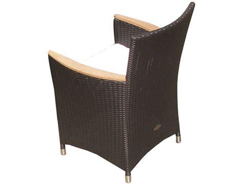 royal teak helena wicker cushion black dining chair hefwbl