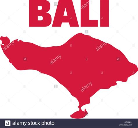 bali map vector stock  bali map vector stock
