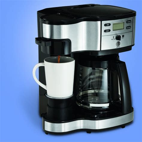 While i believe this coffee maker was originally made in the usa, it is now manufactured in china. Hamilton Beach 49980Z Single Serve Coffee 2-Way Brewer and ...