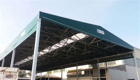 tettoie pvc capannoni mobili e tunnel mobili civert coperture pvc