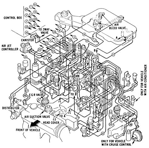 1989 Honda Accord Engine Diagram by Accord I Want A Copy Of The Vacuum System Routing Diagram