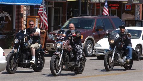Hells Angels 2006 World Run In Cody