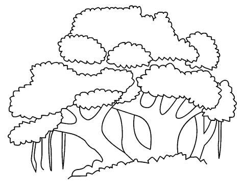 10 belajar mewarnai gambar pohon