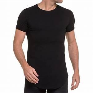 Tee Shirt Moulant Homme : t shirt t shirt moulant homme noir uni oversize ~ Dallasstarsshop.com Idées de Décoration