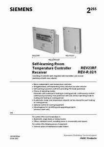 Siemens Rev23rf Central Heating Download Manual For Free