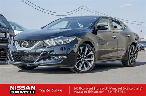 Used 2017 Nissan Maxima Sr In Montreal, Laval And South