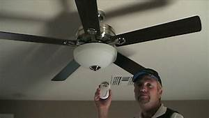 How To Install A Ceiling Fan With Remote Control