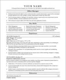 administration manager resume template management resume template is professional help from the professionals