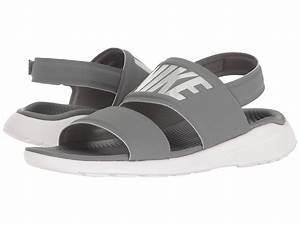 Nike Tanjun Sandal Cool Grey White Pure Platinum Zappos