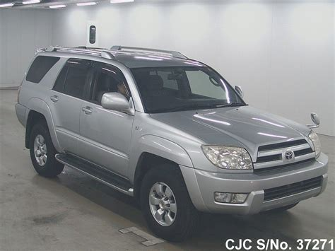 2002 toyota hilux surf 4runner silver for sale stock no 37271 used cars exporter