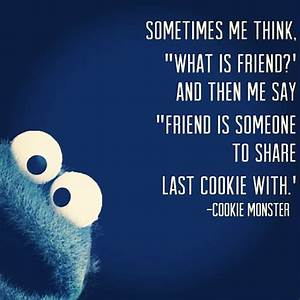 Cookie Monster Quotes. QuotesGram