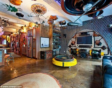 york apartment converted   retro futuristic