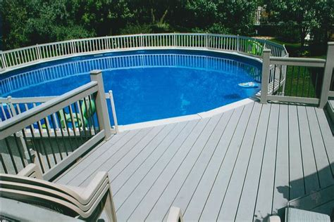 pool deck railing very cool idea for above ground pool decks pool pinterest decks backyards and ground pools