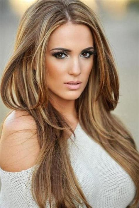 light brown hair with highlights brown hair and highlights