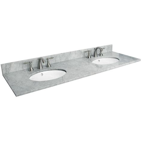 top kitchen sink faucets 73 quot x 22 quot marble vanity top with undermount sinks