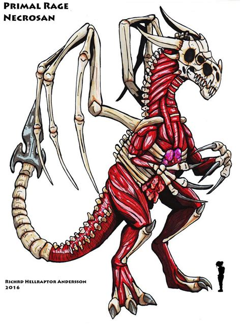 primal rage necrosan god of by hellraptor deviantart on deviantart hellrator