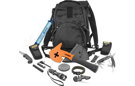 survival apocalypse kit zombie backpack tactical kits lansky amazon bag zombies supplies essentials ll emergencysurvival supply