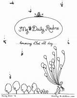 Coloring Children Printable Routine Daily Ministry Pages Pdf Church Books Sheets Sheet Child Each sketch template