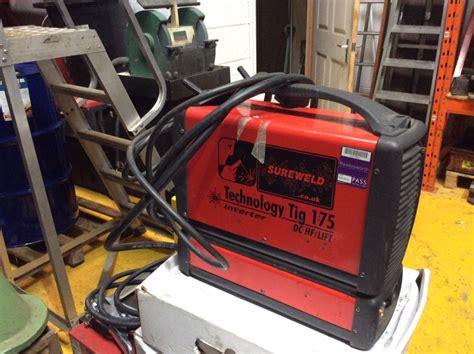sureweld technology tig 175 dc hf lift inverter 1ph