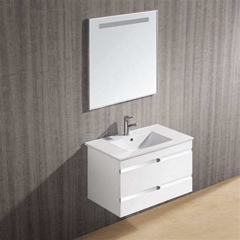 Floating Vanity Sink by Simple Yet Attractive Floating Bathroom Sink The Homy Design