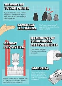 infographic the ultimate guide to office bathroom With bathroom edicate