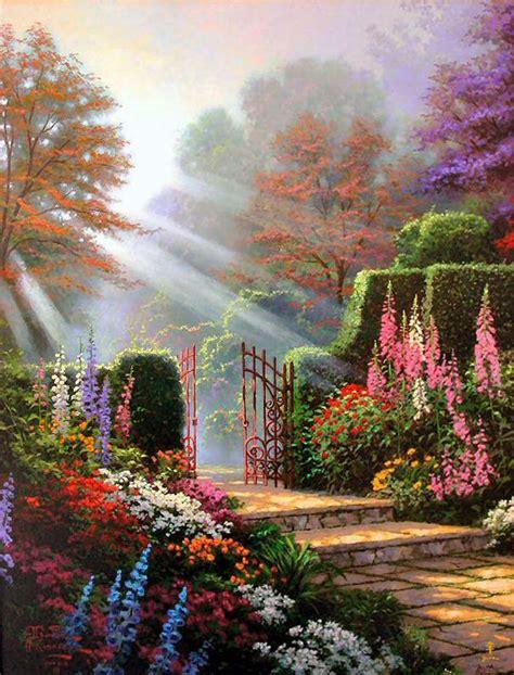 garden of grace garden of grace gardens of light i by kinkade