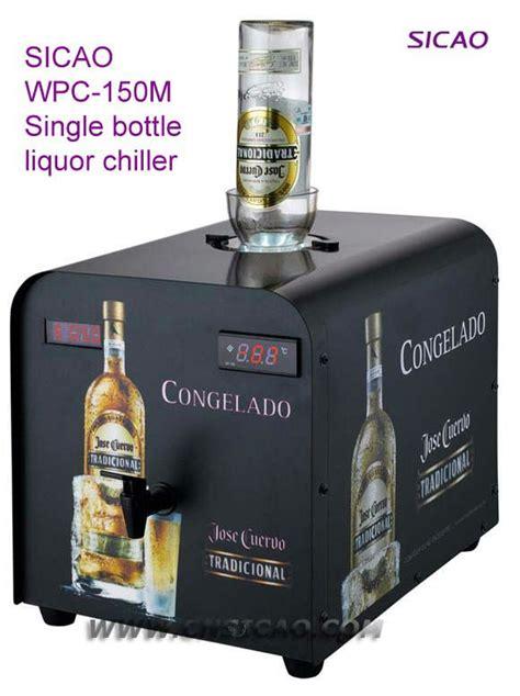 bottle machine vodka liquor dispenser chiller bar accessory electric cold bar