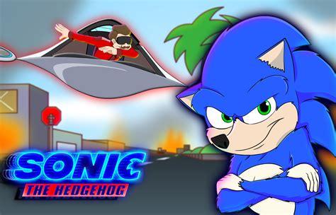 Basically The Sonic The Hedgehog Movie Animation